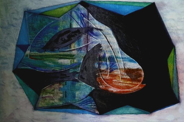 Galerie des oeuvres et   Thèmatique : Charbon entre la vie et la mort
