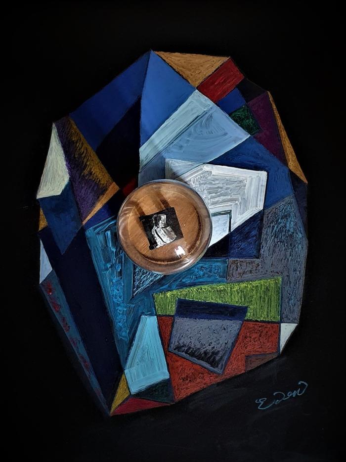 «Confined mind», Atelier du Cheval Blanc, Chartres, 2020