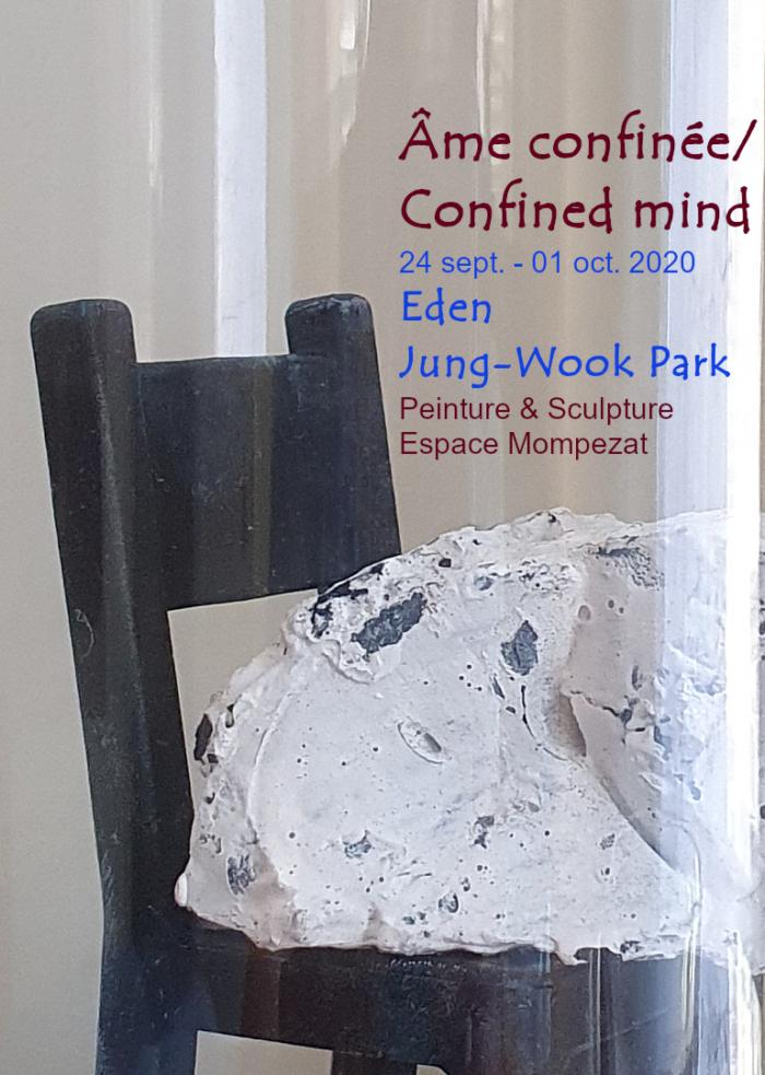 «Confined mind», Espace Mompezat, Paris, 2020