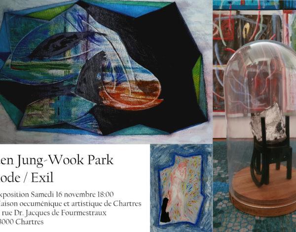 """Exposition """"Exode, Exil"""" le 16 novembre à 18h00 au Centre Œcuménique et Artistique de Chartres"""