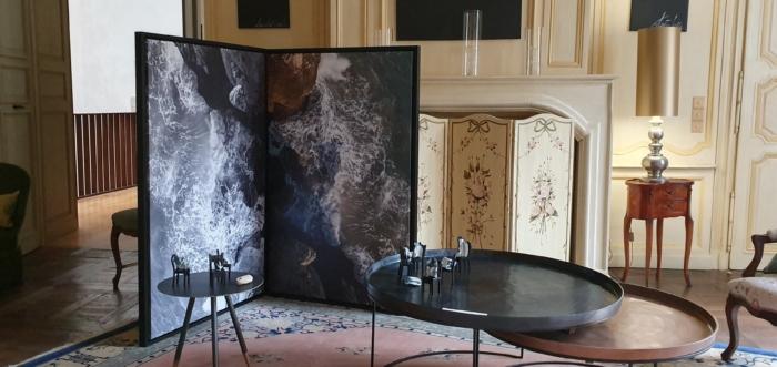 «Peace», La Mercure, Château du Viguier du Roy, Figeac, 2019